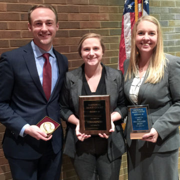 Drake Law School National Moot Court Team Advances to Finals