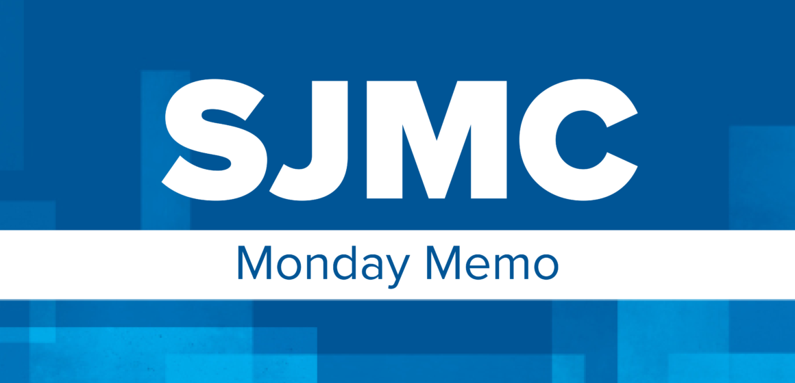SJMC Tuesday Memo | March 24, 2020