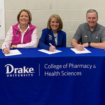 Drake Athletic Training Program Partners with Local High School Athletic Organizations