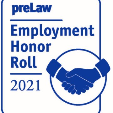 Drake Law School named to preLaw Magazine's 2021 Employment Honor Roll