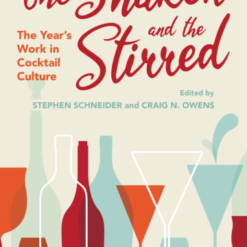 Craig Owens, professor of English, publishes co-edited collection on cocktail culture