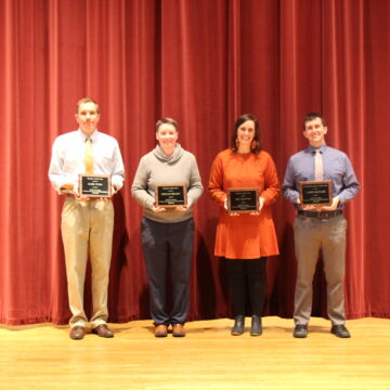 Faculty awards announced at Health Professions Day