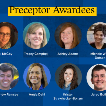 Preceptor awards announced at Health Professions Day