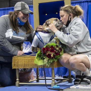 Rescue Dog Myrtle Mae Wins Beautiful Bulldog Contest® presented by Sammons Financial