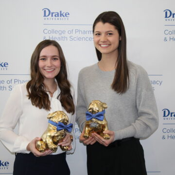 Jones and Tharp selected as Granberg Award Recipients
