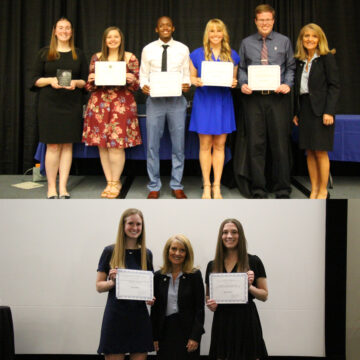 Students Honored in Annual Recognition & Pinning Ceremonies