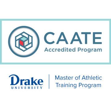 Drake University Master of Athletic Training Program Gains Accreditation