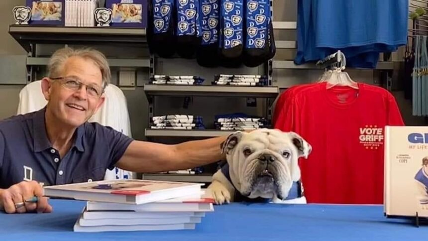Book signing event with Gary Porter author of 'Griff: My Life as Drake's Top Dog'